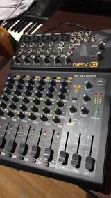 Mesa De Som Firewire M-audio Nrv10