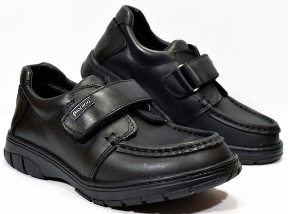 Zapato Colegial Cuero Pianino N°34 Al 40 M1623 Calzados Susy