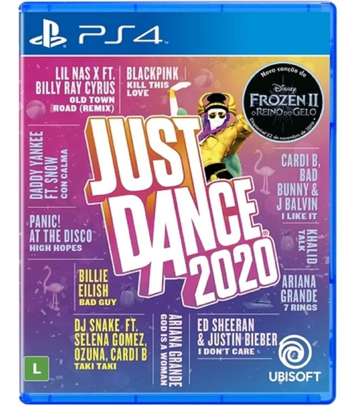 Just Dance 2020 Ps4 Midia Fisica Novo Lacrado + Nf