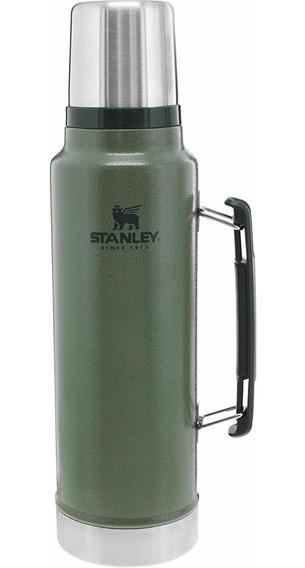 Termo Stanley 1 Litro. Color Verde Clasico