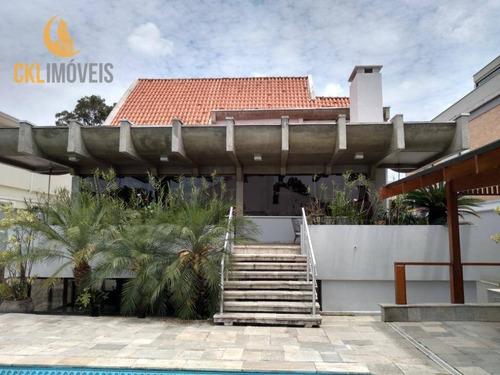 Casa Com 4 Dormitórios À Venda, 451 M² Por R$ 3.300.000,00 - Alphaville 02 - Barueri/sp - Ca0050