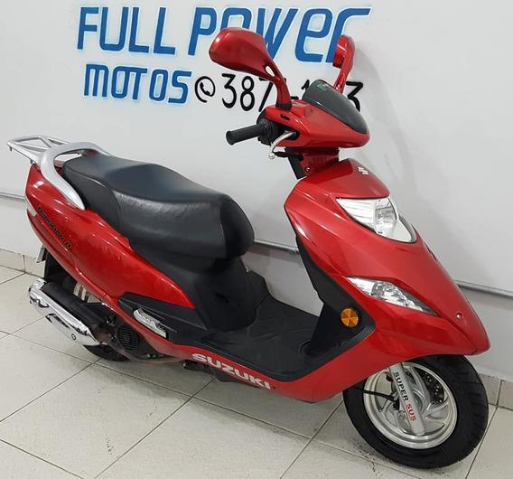 Suzuki Burgman 125i Vermelha 2012/12