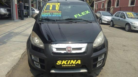 Fiat Idea 1.8 Mpi Adventure 2011 Preta/completa/r$ 29.990,00