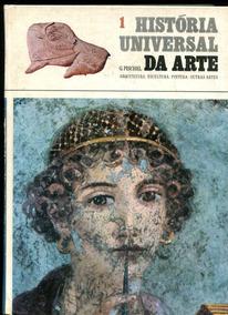 História Universal Da Arte Gina Pischel - 3 Volumes - L.2046