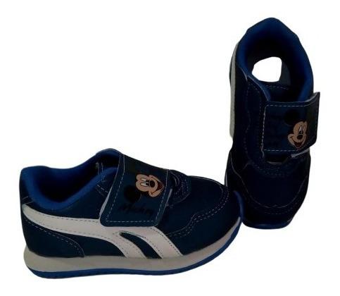Zapatillas De Nene Mickey Abrojo Cuotas S. Intereses