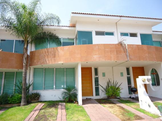 Renta Casa En Residencial Bahamas Privada Alberca Seguridad