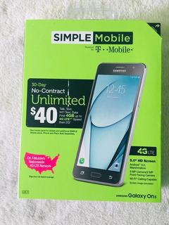 Celular Samsung Galaxy On 5 95 Aceitunas. No Trae Cargador