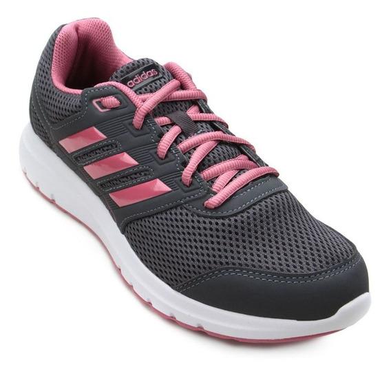 Tênis adidas Duramo Lite 2.0 - Feminino - Cinza/rosa