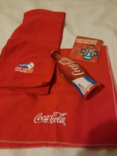 Lote De Coca Cola Copa America Hinchada Coca Cola 2011