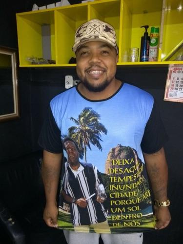 Imagem 1 de 2 de Camiseta  Almir Guineto Samba Pagode Musica