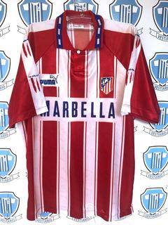 Atlético De Madri Espanha G Puma Mesma Camisa Jogo Nº 9 1994