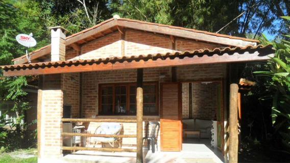 Casa Charmosa Em Condomínio Reserva Da Mata Atlântica
