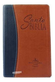 Biblia Marron Azul Reina Valera 1960