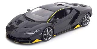 Miniatura Lamborghini Centenario Cinza Maisto 1/18