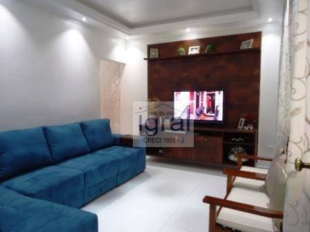 Casa Com 3 Dormitórios À Venda, 182 M² Por R$ 450.000,00 - Vila Do Encontro - São Paulo/sp - Ca0455