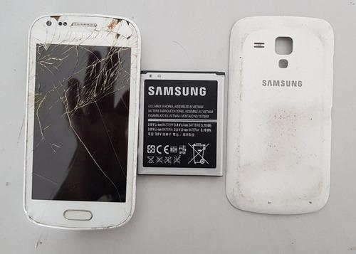 Celular Samsung Galaxy S Duos 2 Gt-s7582l Sucata Ref: J23