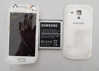 Celular Samsung Galaxy S Duos 2 Gt-s7582l Defeito Ref: J23