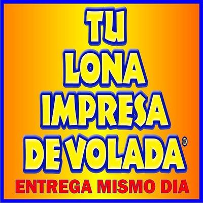Lona A $ 55mto Entrega El Mismo Dia