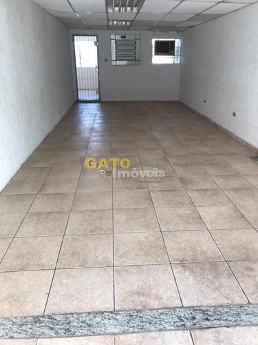 Salão Comercial Para Locação Em Cajamar, Jordanésia (jordanésia), 1 Banheiro, 1 Vaga - 21281_1-1858854