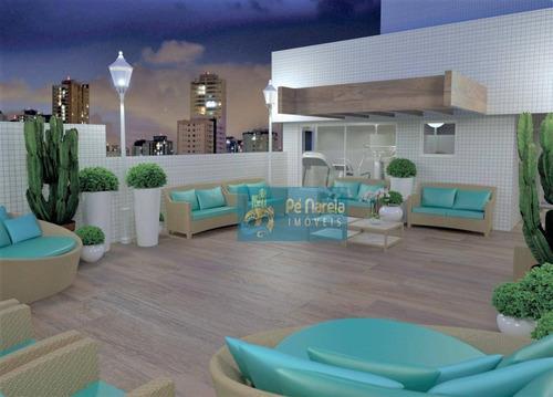 Apartamento Com 1 Dormitório À Venda, 44 M² Por R$ 22.375,00 - Vila Guilhermina - Praia Grande/sp - Ap0177