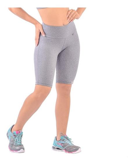 12 Short Feminino Academia Liso Cintura Alta Fitness Atacado