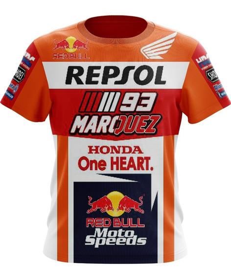 Camiseta Camisa Marc Marquez Repsol/gp/honda/red Bull