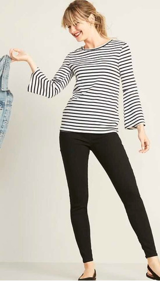 Pantalón Old Navy Super Skinny Black Pull-on Jeggings