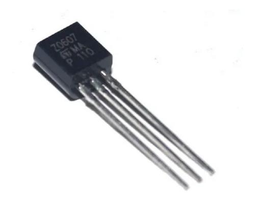 Imagen 1 de 2 de Z-0607 Z0607 Z0607ma Triac 600 V 0.8 A Original St X5 Unidad