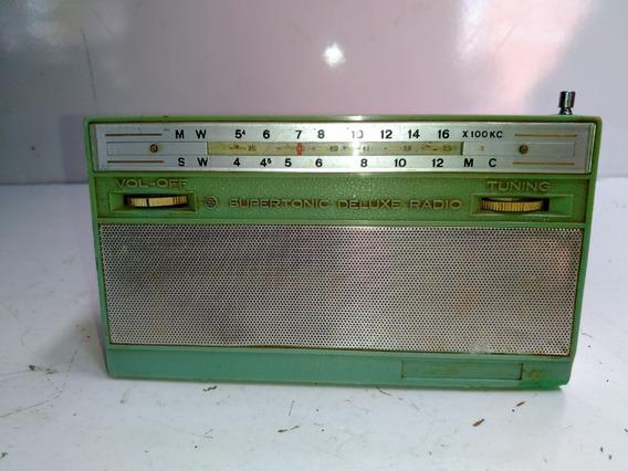 Radio Crown Tr-705 Transistorizado Antigo 1961
