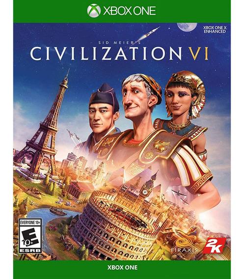 Jogo Mídia Física Sid Meiers Civilization Vi Para Xbox One
