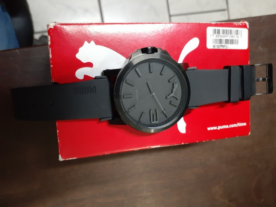 Relogio Puma Ultrasize Preto Black Original