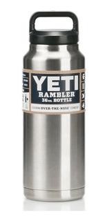 Termo Rambler Bottle, Silver36 Oz Acero Inoxidable 1 Litro