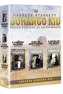 Durango Kid Vol.ii - Box Com 3 Dvds - Charles Starrett