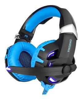 Onikuma K2 Gaming Headset Blue