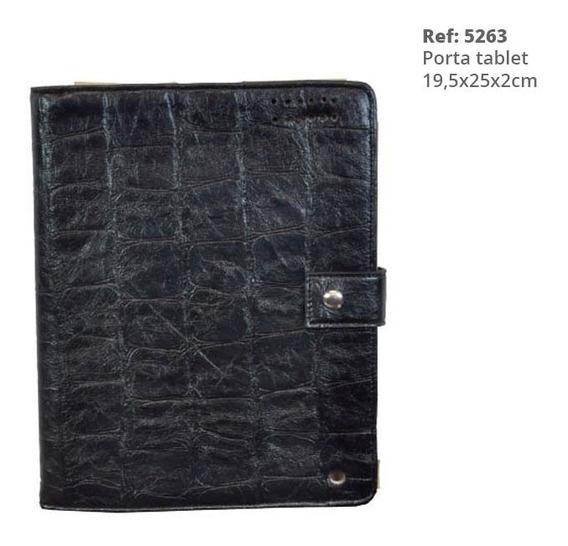 Case Preto - Capa Porta iPad / Tablet Luxo Ref. 5263 Oferta