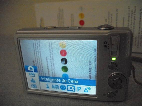 Câmera Digital Alba Sl1231 12mp + Carreg + 2baterias (#10a7)