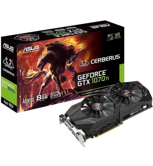 Asus Geforce Gtx 1070 Ti Cerberus Advanced 8gb