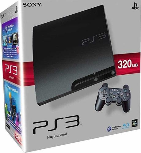 Playstation 3 Ps3 320gb Play 3