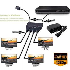 Uhd & Nbsp; Interruptor Hdmi 4 K 4 Porto 1x4 Hdmi Switcher S