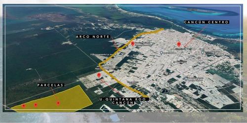 Imagen 1 de 11 de Venta De Parcelas En Cancun