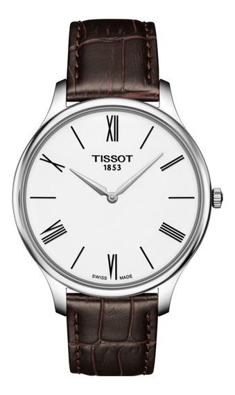Relógio Tissot Slim Masculino Vidro Sapphire Crystal T063.40