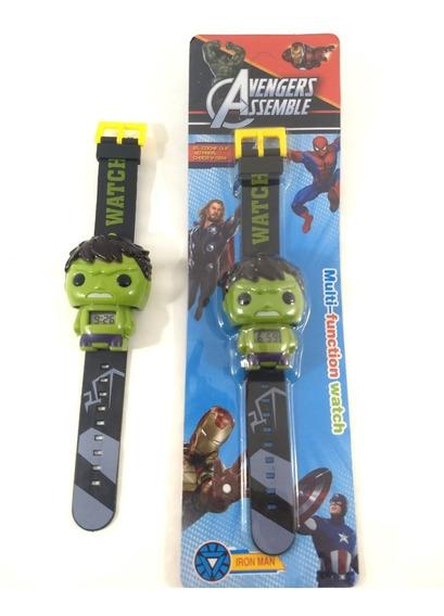 Relógio Infantil Hulk Meninos Promoção!!!