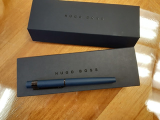 Bolígrafo Hugo Boss New Loop Dark Blue