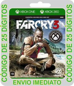 Far Cry 3 Classic Edition - Código De 25 Dígitos Xbox One