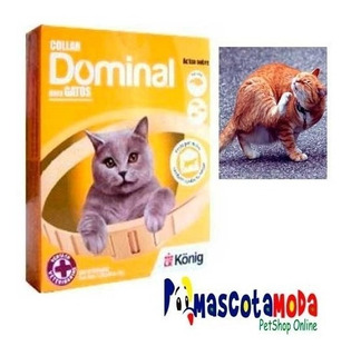 Collar Dominal Antipulgas Para Gatos