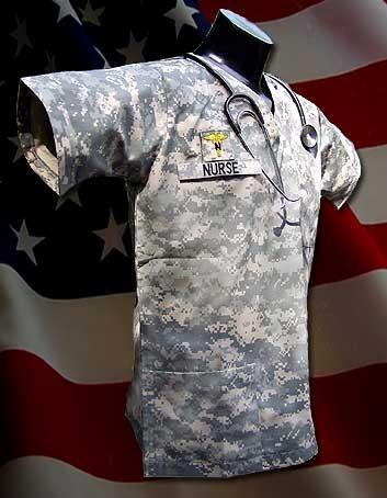 Espectacular!! Chaqueta Medico Orig. Us Army- Acu Small