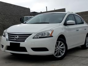 Nissan Sentra 1.8 Sense Cvt 2016 Blanco
