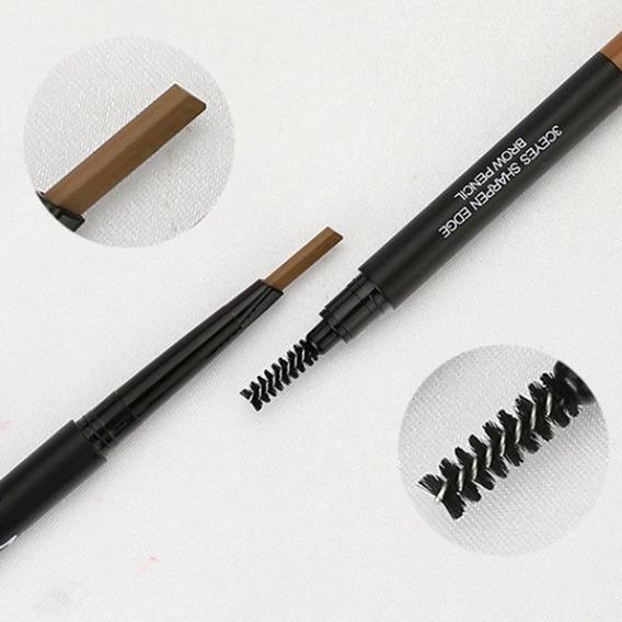 Lápis De Sobrancelha Rotativa Lápis Com Uma Escova Multicolo