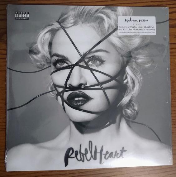 Lp Madonna Rebel Heart Deluxe Lacrado E Pronta Entrega