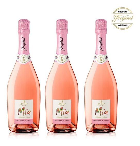 Freixenet Kit 3 Moscato Pink 750ml